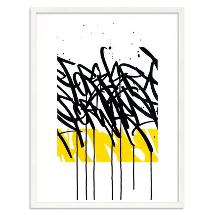 Bisco Smith Art Print - Forever Forward - Black on White