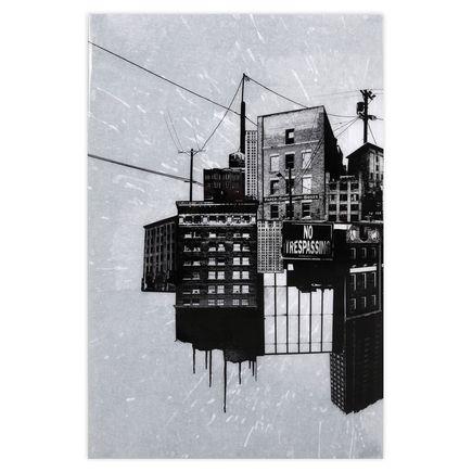 Bisco Smith Original Art - No Trespass - Original Artwork