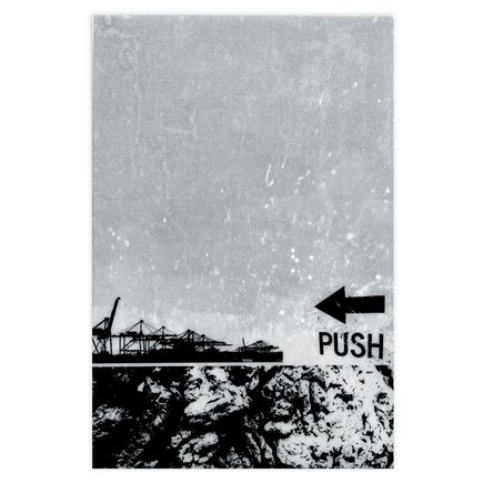 Bisco Smith Original Art - Push - Original Artwork