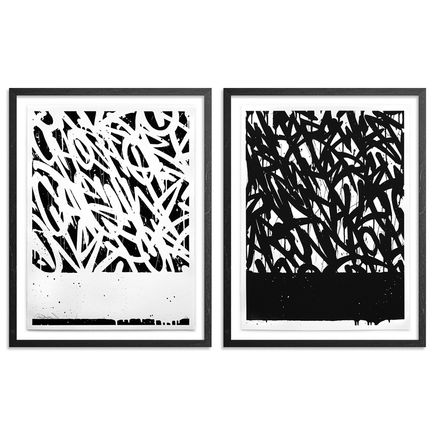 Bisco Smith Art Print - Stacks - Two Print Set