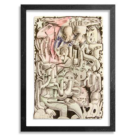 BlusterOne Original Art - Sinus Pain 1970