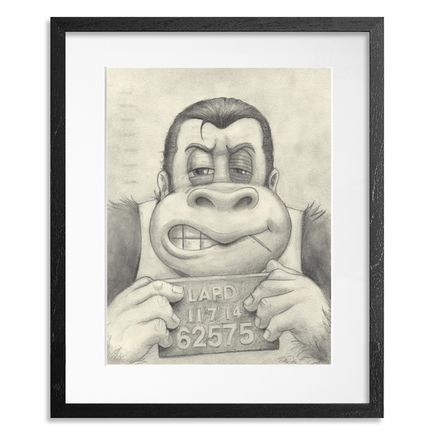 Bob Dob Original Art - Mug Shot Donkey Kong