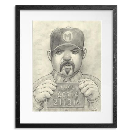 Bob Dob Original Art - Mug Shot Mario