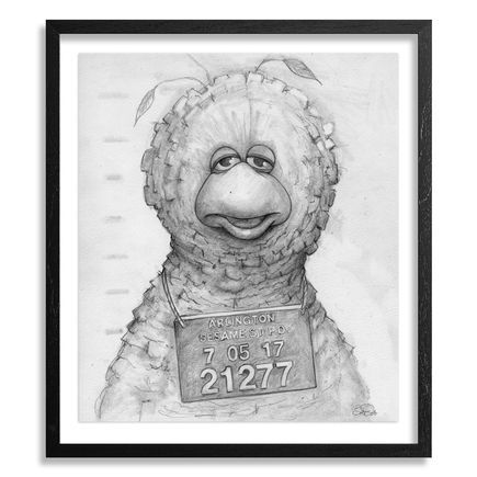 Bob Dob Original Art - Mug Shot Big Bird