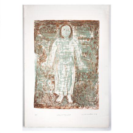 Robert Sestok Art Print -  Lady Of The Lake - Artist Proof II - 2008