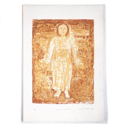 Robert Sestok Art Print - Lady Of The Lake - Artist Proof III - 2008