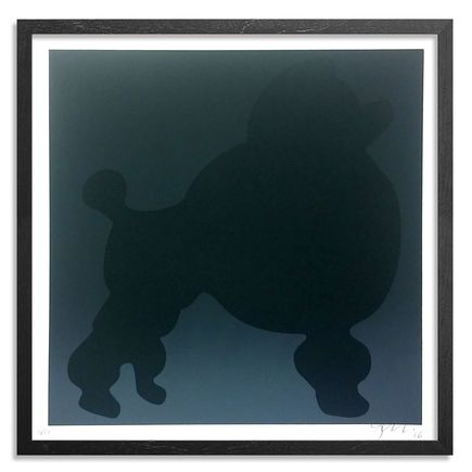 Bob Zoell Art Print - Modern Multiples Poodle Tribute