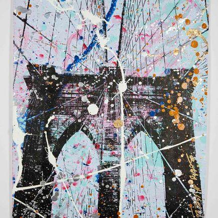 Bobby Hill Art Print - Brooklyn Bridge - 1