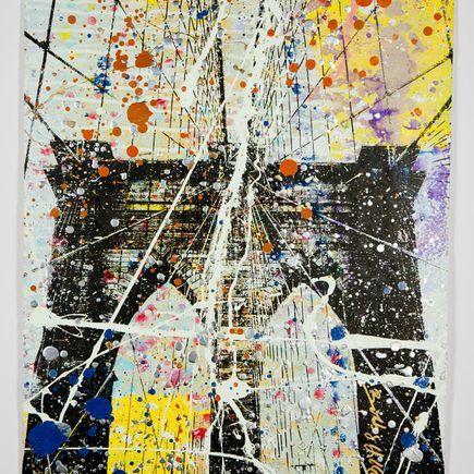 Bobby Hill Art Print - Brooklyn Bridge - 2