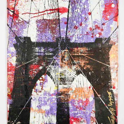Bobby Hill Art Print - Brooklyn Bridge - 3
