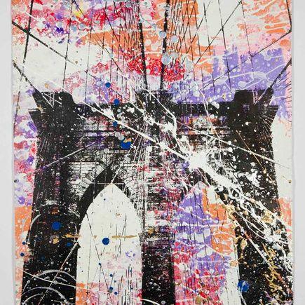 Bobby Hill Art Print - Brooklyn Bridge - 4