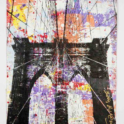 Bobby Hill Art Print - Brooklyn Bridge - 5