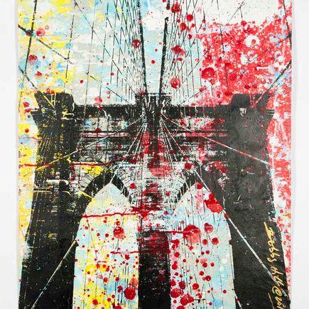 Bobby Hill Art Print - Brooklyn Bridge - 6