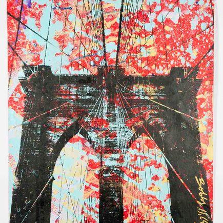 Bobby Hill Art Print - Brooklyn Bridge - 9