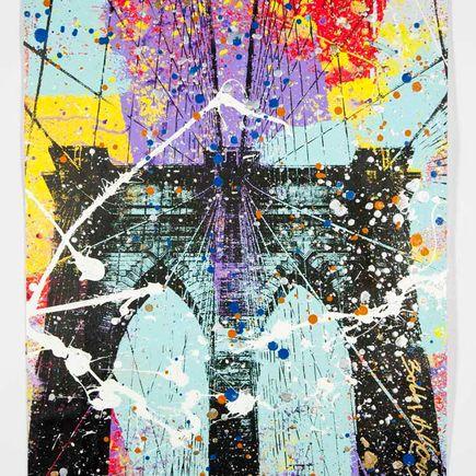 Bobby Hill Art Print - Brooklyn Bridge - 11