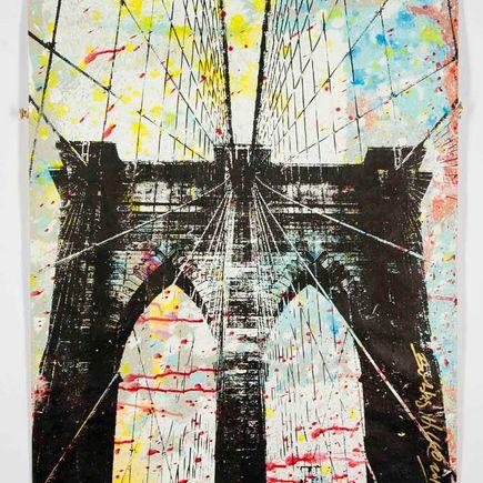 Bobby Hill Original Art - Brooklyn Bridge - 14