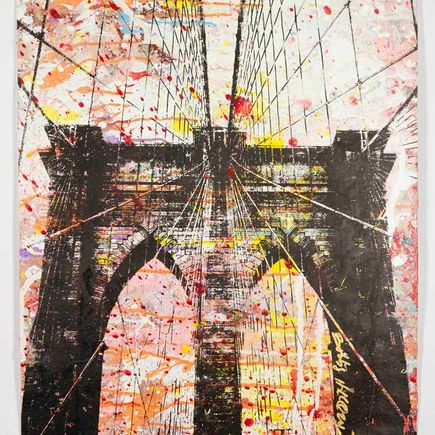 Bobby Hill Art Print - Brooklyn Bridge - 18