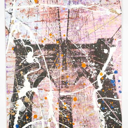 Bobby Hill Original Art - Brooklyn Bridge - 21