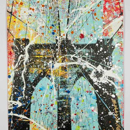 Bobby Hill Original Art - Brooklyn Bridge - 23