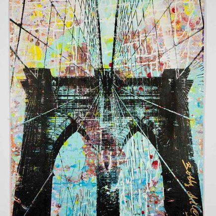 Bobby Hill Original Art - Brooklyn Bridge - 24
