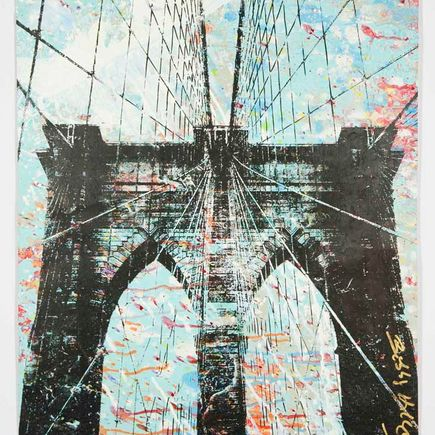 Bobby Hill Original Art - Brooklyn Bridge - 27
