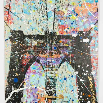 Bobby Hill Original Art - Brooklyn Bridge - 28