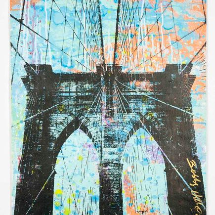Bobby Hill Original Art - Brooklyn Bridge - 31