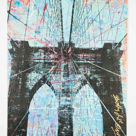 Bobby Hill Original Art - Brooklyn Bridge - 32