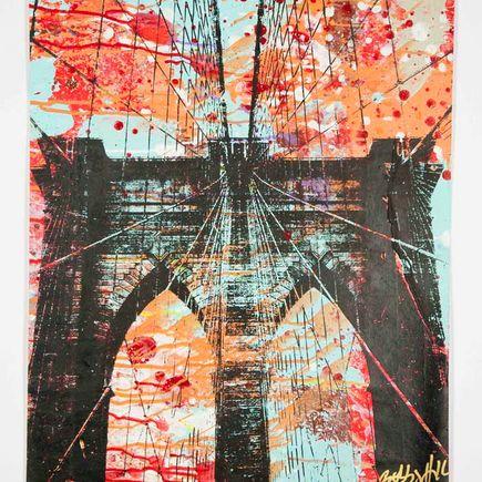 Bobby Hill Original Art - Brooklyn Bridge - 33
