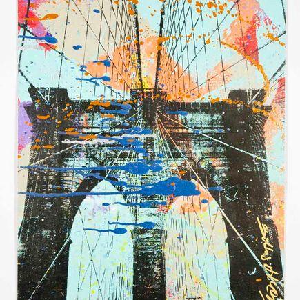 Bobby Hill Original Art - Brooklyn Bridge - 34