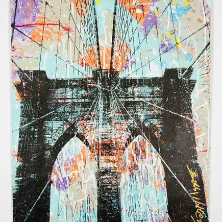 Bobby Hill Original Art - Brooklyn Bridge - 37