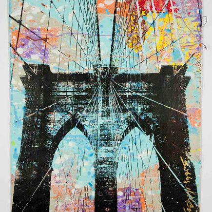 Bobby Hill Original Art - Brooklyn Bridge - 40