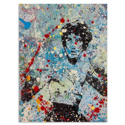 Bobby Hill Art - Bruce Lee