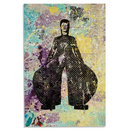 Bobby Hill Art - David Bowie I - 24 x 36 Edition