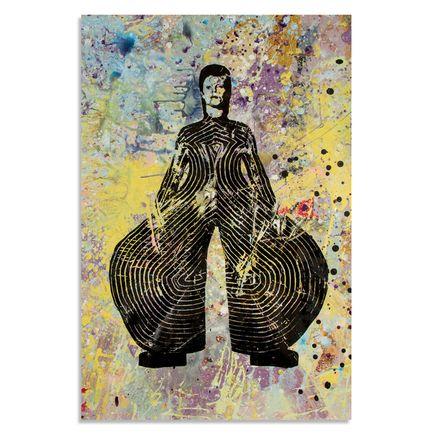 Bobby Hill Art - David Bowie II - 24 x 36 Edition