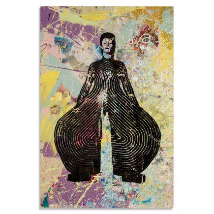 Bobby Hill Art - David Bowie III - 24 x 36 Edition