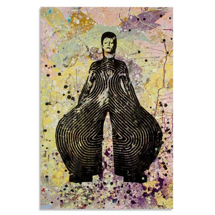 Bobby Hill Art - David Bowie IV - 24 x 36 Edition