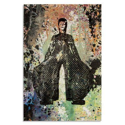 Bobby Hill Art - David Bowie V - 24 x 36 Edition
