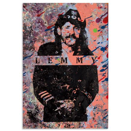 Bobby Hill Art - Lemmy