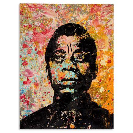 Bobby Hill Art - James Baldwin