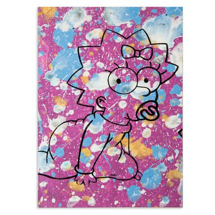 Bobby Hill Art - Maggie Simpson