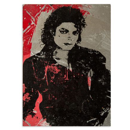 Bobby Hill Art - MIchael Jackson (Bad)