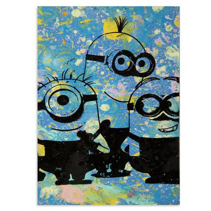 Bobby Hill Art - Minions