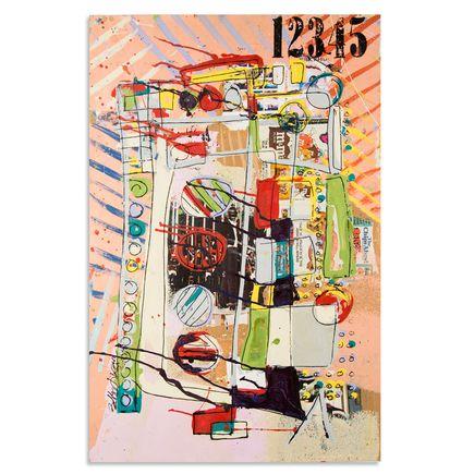 Bobby Hill Art - Analog vs. Digital III