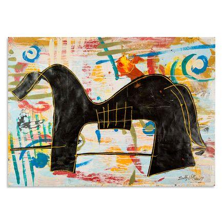 Bobby Hill Art - Boy Leading A Horse I
