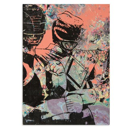 Bobby Hill Art - Power Rangers