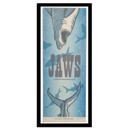 Bobby Rosenstock Art Print - JAWS