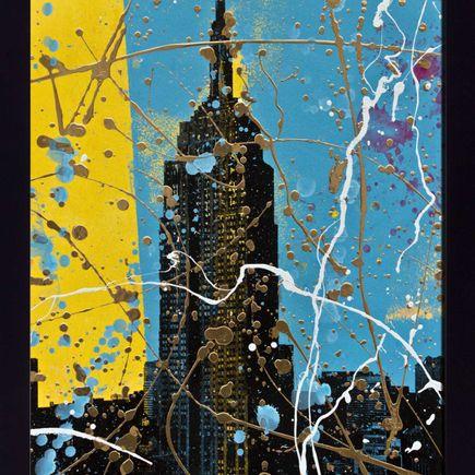 Bobby Hill Art Print - Empire State (Blue Variant)