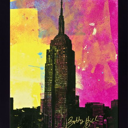 Bobby Hill Art Print - Empire State (No Splatters Variants)