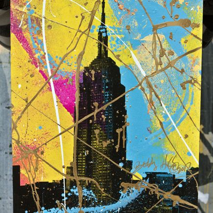 Bobby Hill Art Print - Empire State (Yellow Variants)